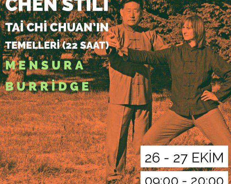 Mensura Burridge ile Chen Stili Tai Chi Chuan'ın Temelleri (22 Saat)