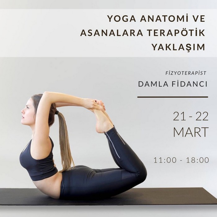 Yoga Anatomi ve Asanalara Terapötik Yaklaşım (EKSTRA ÜCRETLİ)