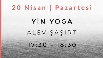 Alev Şaşırt ile Yin Yoga