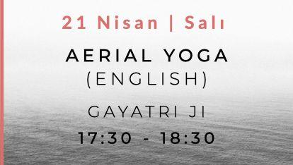 Aerial Yoga with Gayatri Ji (English)
