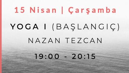 Nazan Tezcan ile Yoga I (Başlangıç)