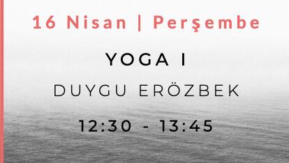 Duygu Erözbek ile Yoga I