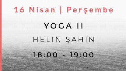 Helin Şahin ile Yoga II