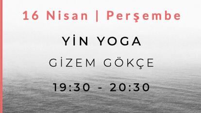 Gizem Gökçe ile Yin Yoga