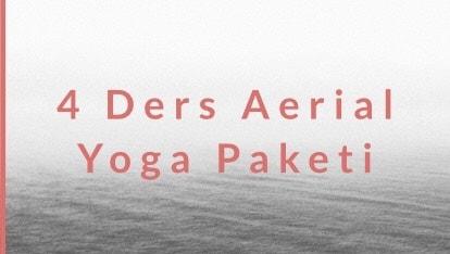 4 Ders Aerial Yoga