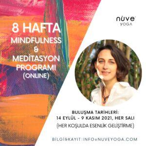 Hande Akmehmetoğlu ile 8 Hafta Mindfulness ve Meditasyon Programı