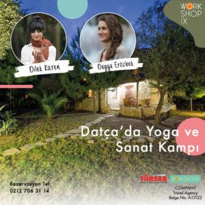 Duygu Erözbek ve Dilek Karen ile Datça'da Yoga ve Sanat Kampı